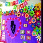 Decoracion dia del niño en escuelas