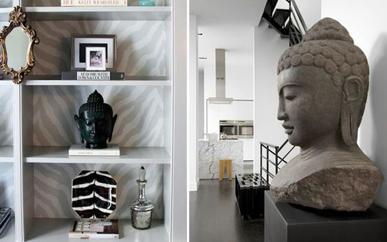 Decoracion estilo budista