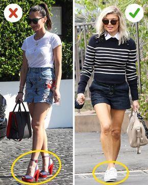 Errores de moda que devemos evitar