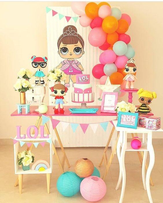fiesta 3 años para niña
