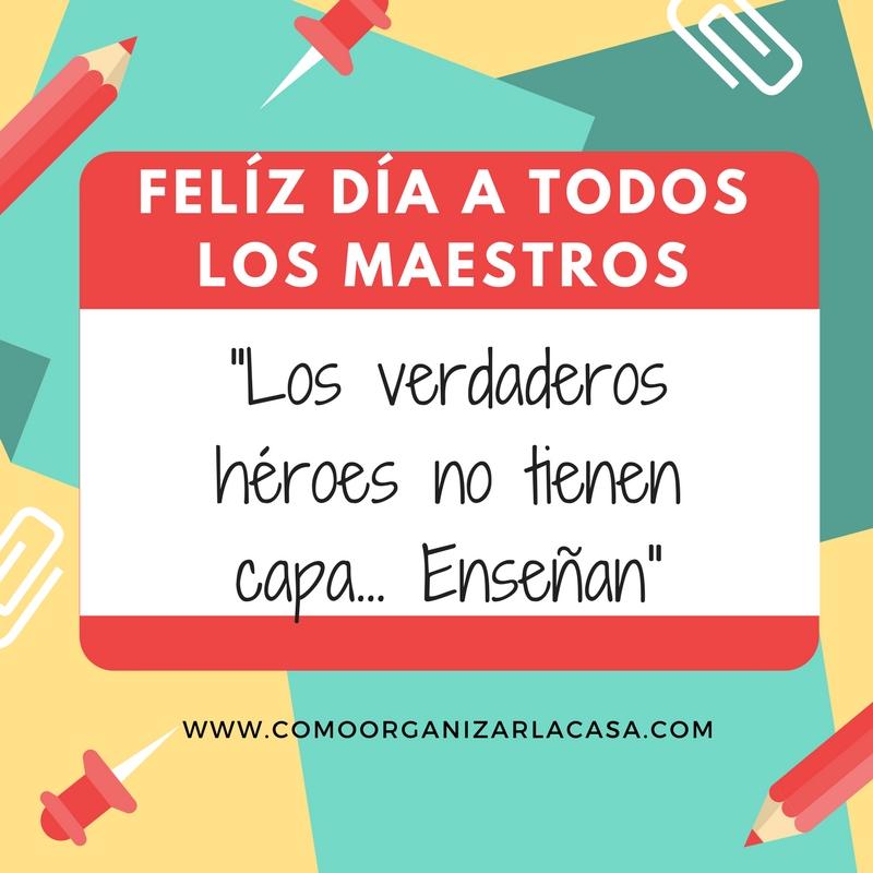 Frases Para El Dia Del Maestro Curso De Organizacion Del