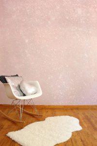 ideas para decorar espacios con pintura escarchada 5