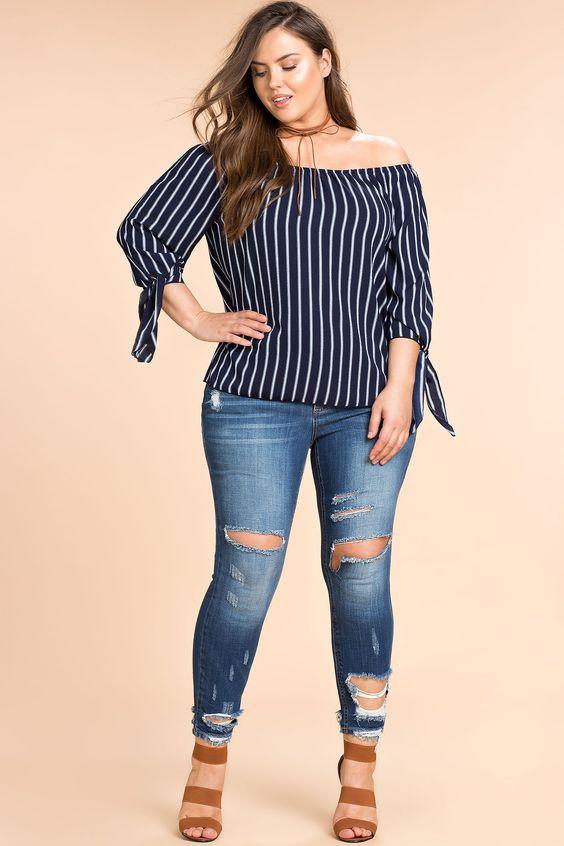 c9bb91b8c Blusas de moda para gorditas | La moda no esta peleada con la talla