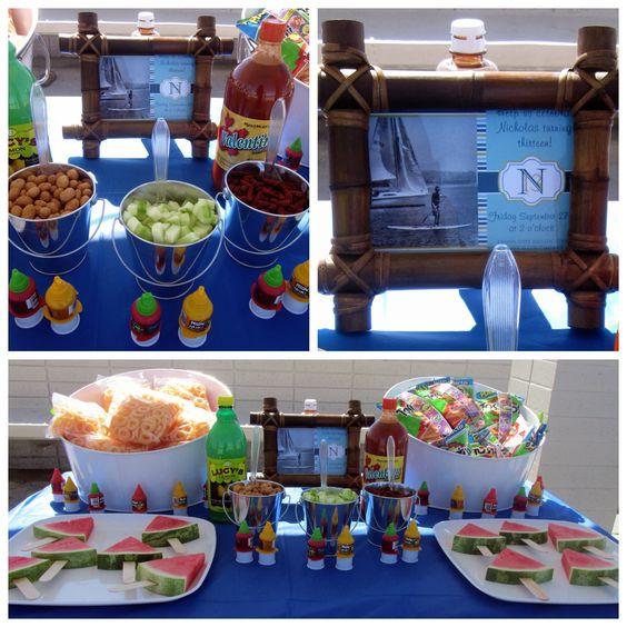 mesa de snack para alberqueada
