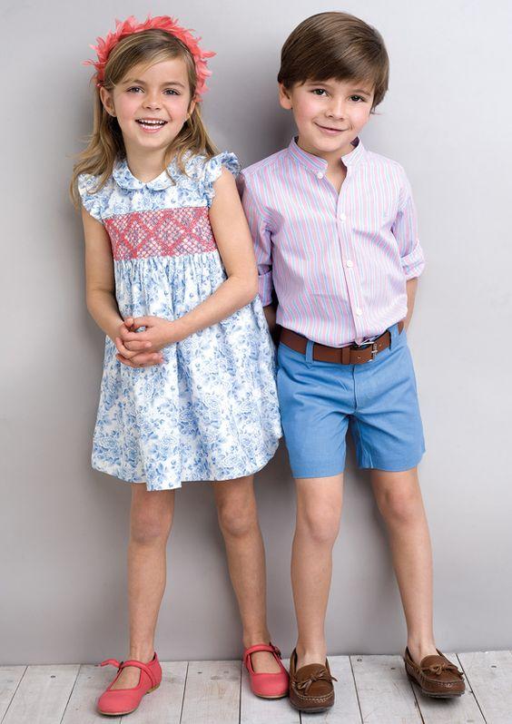 Moda infantil primavera verano 2018
