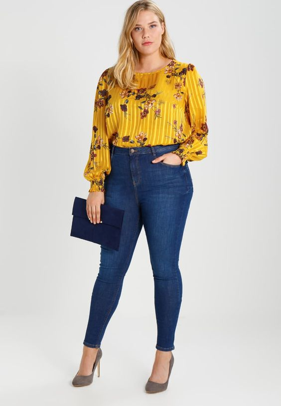 Modelos de blusas casuales para gorditas