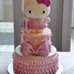 pastel niña 3 años