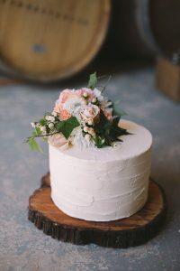 Pasteles para una boda boho chic