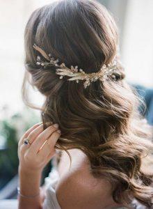 Peinados de novia boho