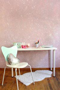pintura con glitter para paredes