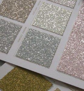 pinturas con glitter para la pared