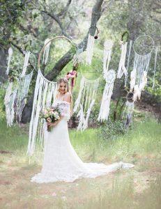 ¿Qué es una boda boho chic?