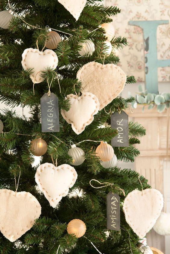 Adornos navide os modernos para el pino3 curso de - Ideas para decorar estrellas de navidad ...