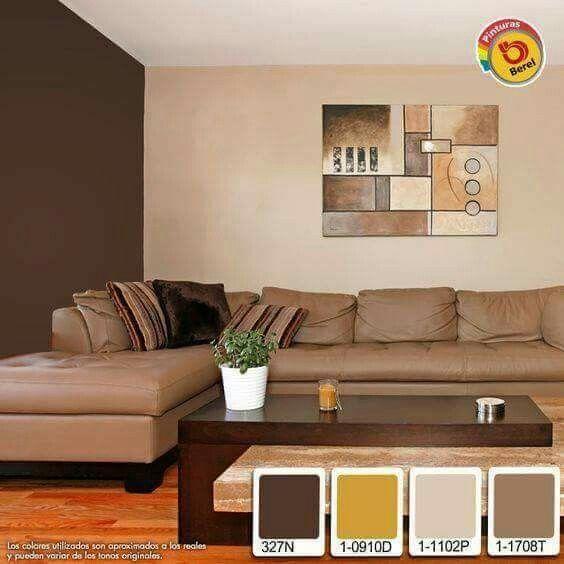 Colores para interiores lo nuevo para pintar tu casa - Paleta de colores para paredes interiores ...