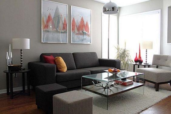 Colores para decoración de salas pequeñas