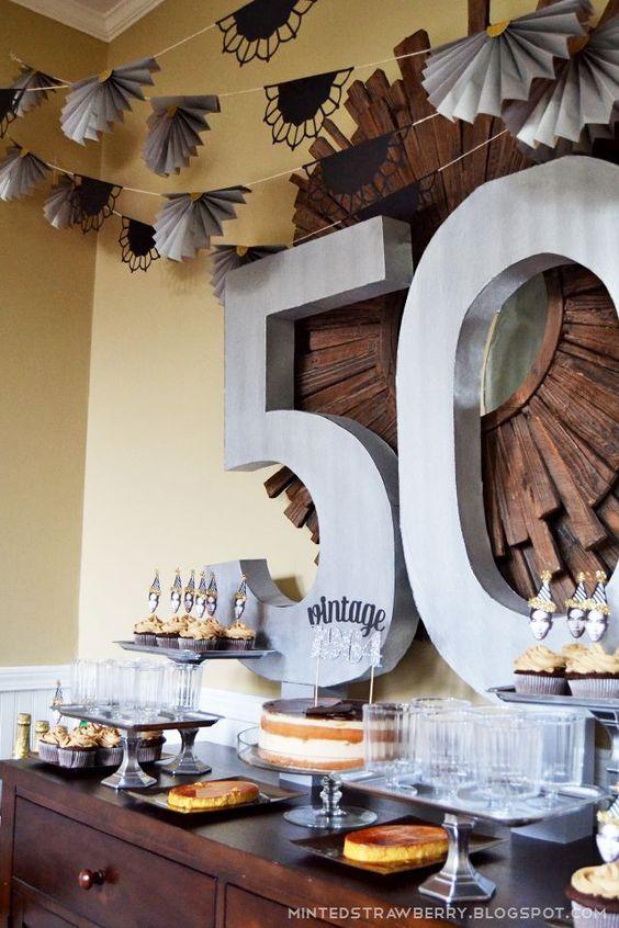 Decoracion de cumpleaños para hombres de 50 años1