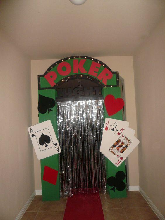Fiesta con tema de noche de poker1