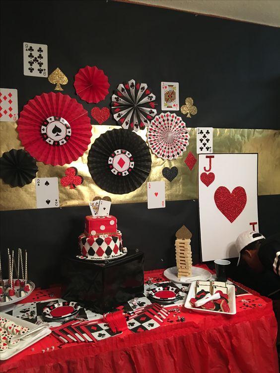 Fiesta con tema de noche de poker4