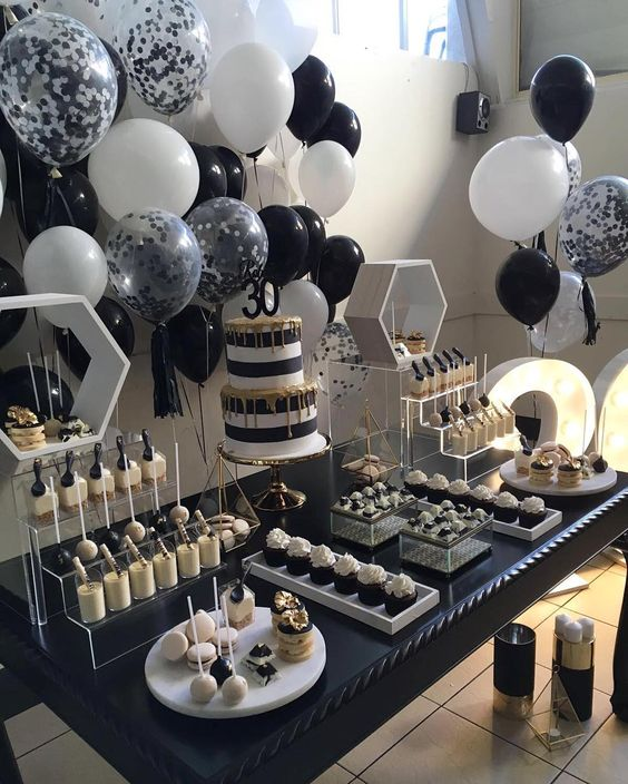 Fiesta de cumpleaños para hombres de 30 años2