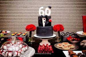 Fiesta para hombres de 60 años