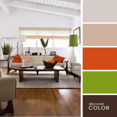Colores para interiores lo nuevo para pintar tu casa for Combinacion de colores para paredes interiores