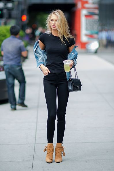 pantalones pitillo para mujeres bajitas