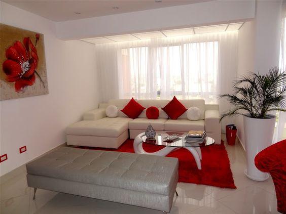 Tipos de muebles para decoración de salas pequeñas