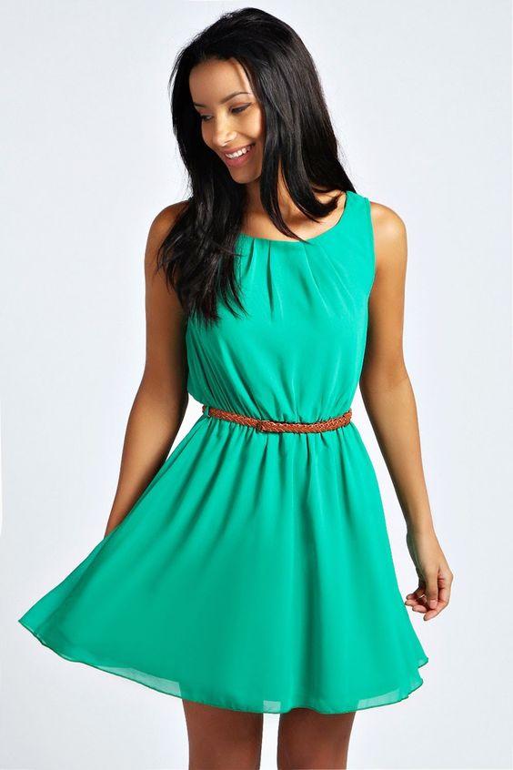 Vestidos para mujeres bajitas de estatura