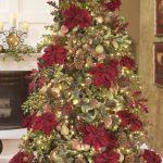 arbol navidad colo rojo