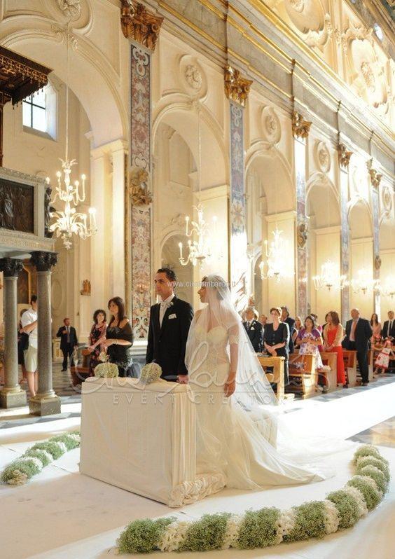 Arreglos florales para boda religiosa