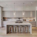 bancos de cocina de madera