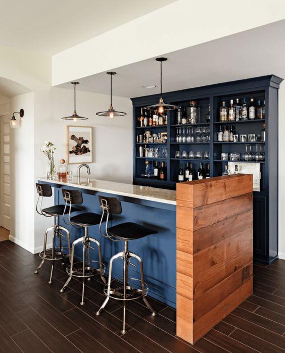 bar casero rustico