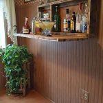 bares rusticos de madera chicos