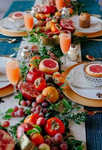 brunch con fruta