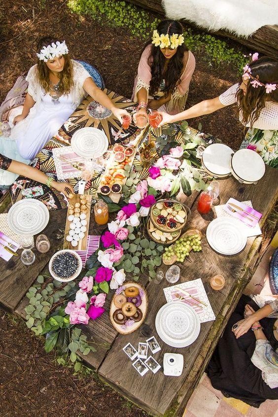 brunch o buffete entre amigasuffete entre amigas