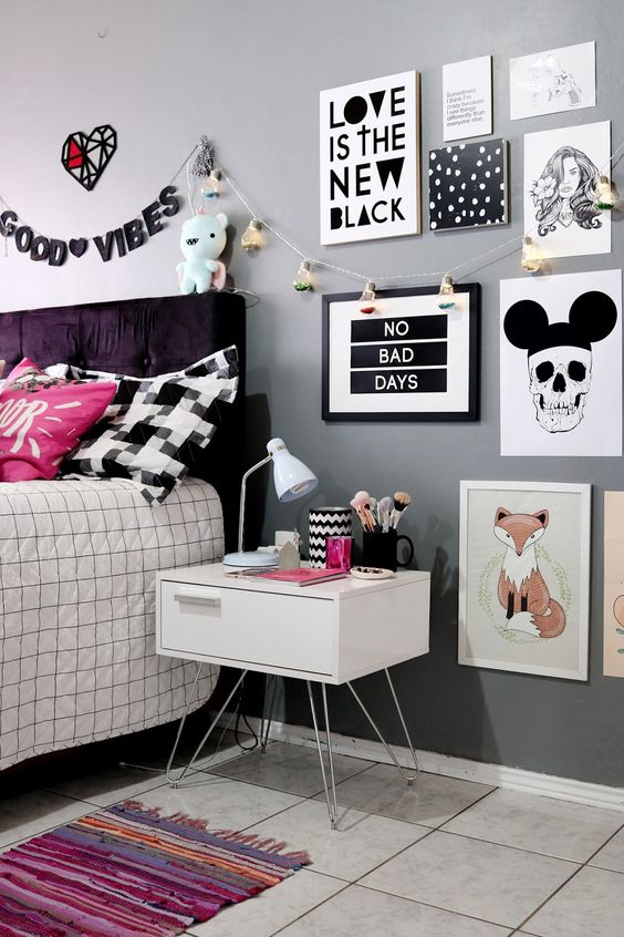 como decorar la casa estilo tumblr 40 propuestas de On cuarto estilo tumblr