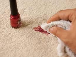 como quitar las manchas de tinta de la alfombra