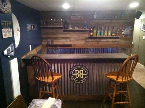 decoracion bares rusticos de madera