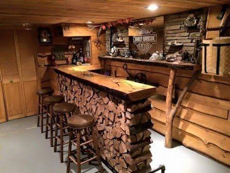 bares r sticos de madera 30 ideas para bares caseros