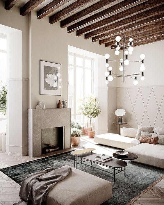 Decoraci n de ambientes de casas estilos para decorar 2018 - Decoracion hygge ...