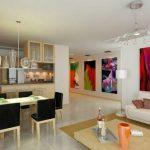 decoracion sala y comedor juntos