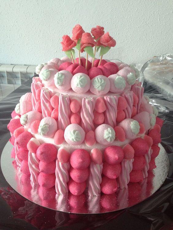 Diseños de pasteles de bombones