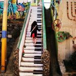escalera de piano santiago de chile