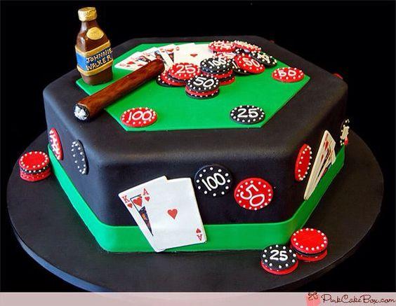 fiesta con tema de noche de poker6