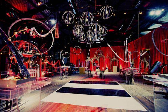 fiesta de quince años con tema de circo