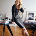 ideas de look con falda para usar en oficina