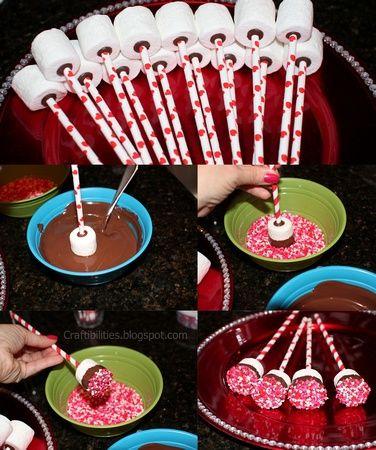 Ideas para tu mesa de postres con bombones