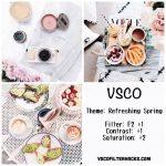 Imágenes de filtros VSCO para tus fotografías