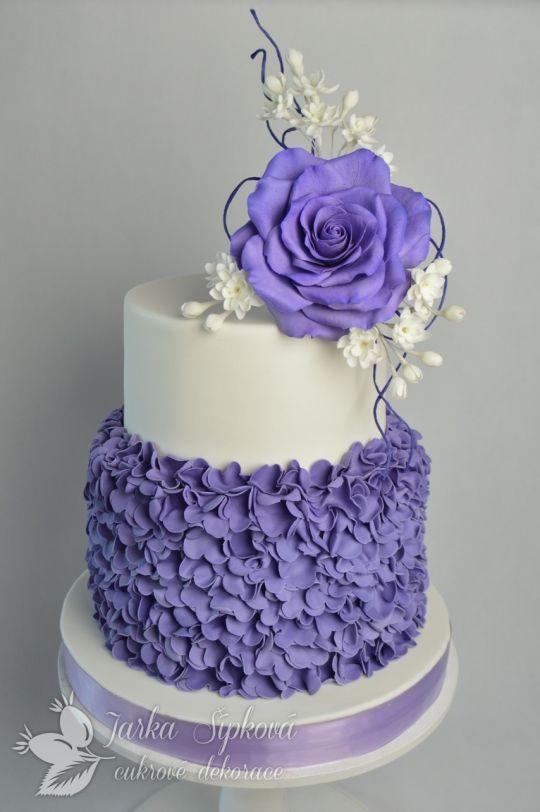pastel de 15 años sencillos