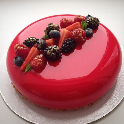 pastel de espejo para el dia de las madres